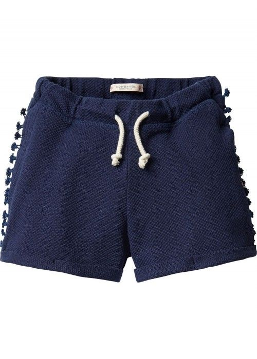 Scotch R'belle Cotton trimmed sweat short