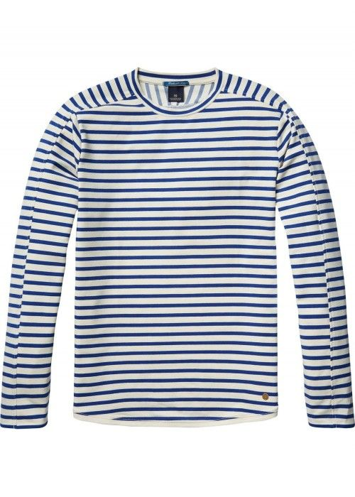 Scotch & Soda Classic longsleeve crewneck