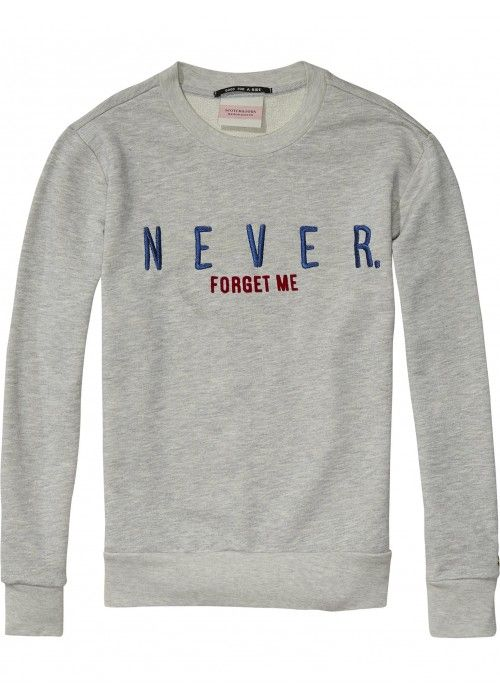 Maison Scotch Pullover sweat with higher nec