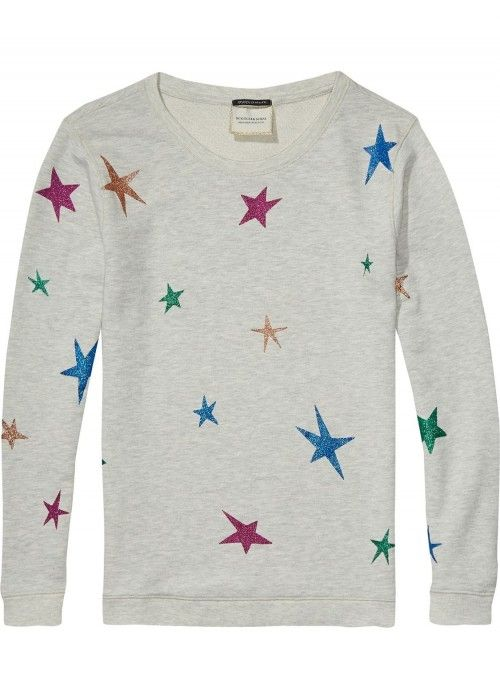 Maison Scotch Crewneck sweat in various dess