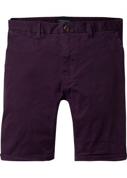 Scotch & Soda Classic garment dyed chino sho