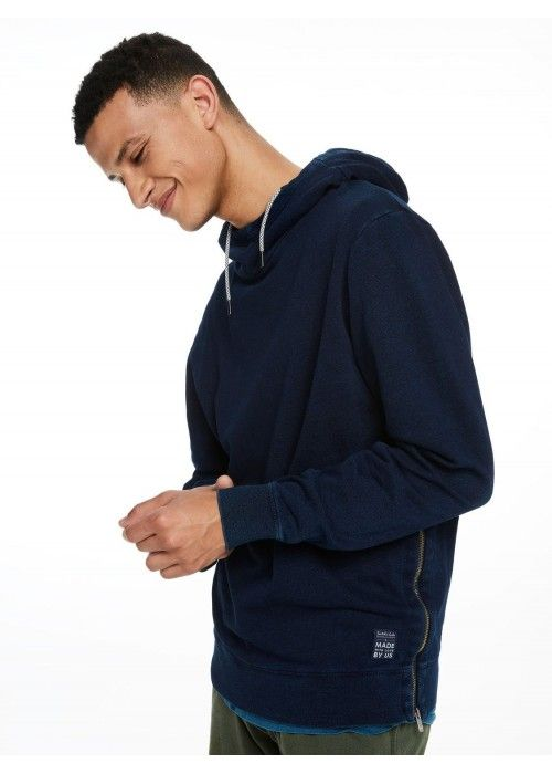 Scotch & Soda Classic hooded sweat in felpa