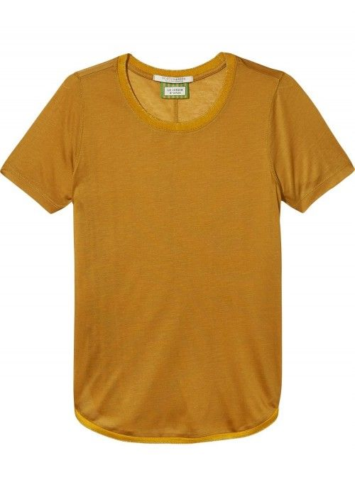 Maison Scotch Short sleeve basic tee