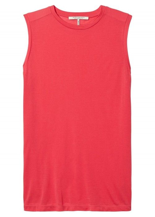 Maison Scotch Sleeveless top in soft jersey