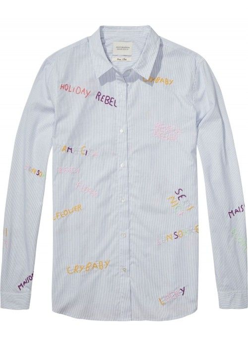 Maison Scotch Longsleeve button up shirt