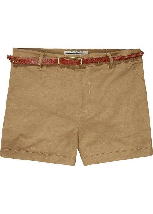 Maison Scotch Chino short in new chic qualit