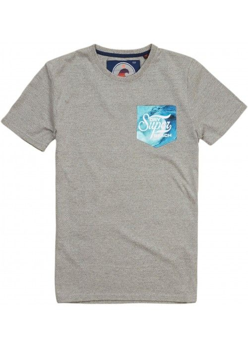 Superdry Super 77 surf photo pocket tee