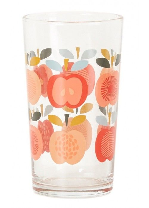 Eb & Vloed Glass tumbler vint. apple
