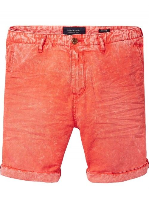Scotch & Soda Theon chino short in garment d