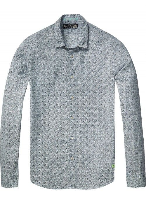Scotch & Soda Longsleeve shirt in cotton voi