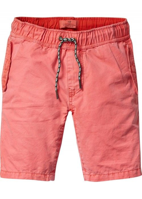 Scotch Shrunk Chino short with elasticated w
