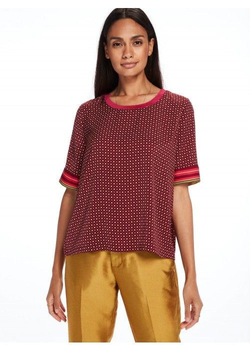 Maison Scotch Silky feel top with placement