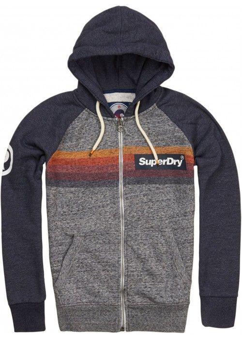 Superdry Super 77 surf raglan hood