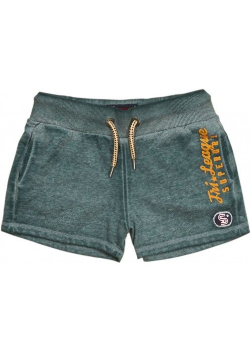 Superdry Try league graphic shorts