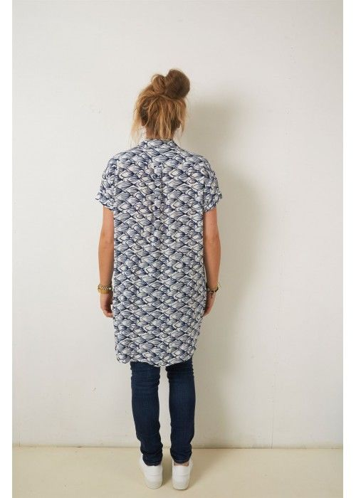 Nice Things Ink Fish Printed S/S