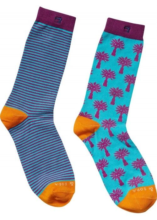 Scotch & Soda Colourful pattern socks 2 pack