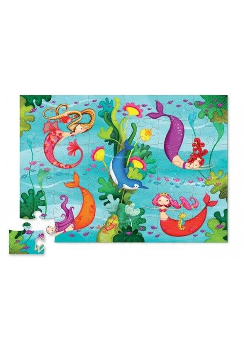 Eb & Vloed Shapes Puzzle - Mermaid