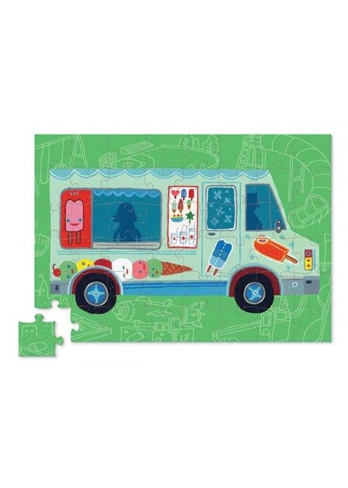 Eb & Vloed Vehicle puzzle Ice cream truck