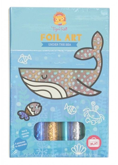 Eb & Vloed Foil Art - Under Sea