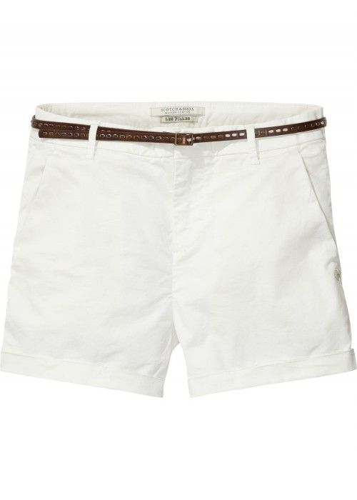 Maison Scotch Chino short in medium weight