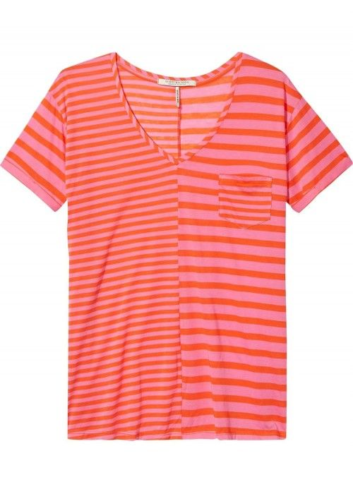 Maison Scotch Short sleeve V-neck tee