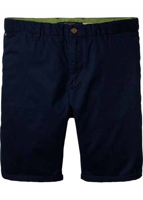 Scotch & Soda Chino short in pima cotton