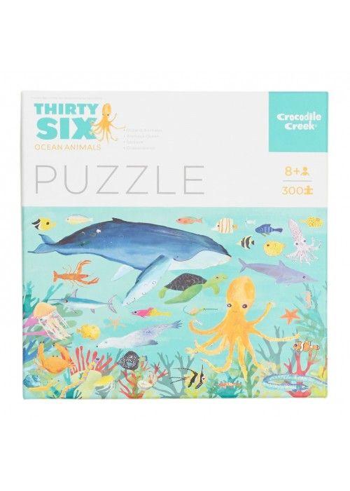 Eb & Vloed Puzzle Ocean Animals