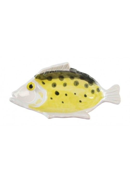 &Klevering Anouk Fishplate Small Yellow
