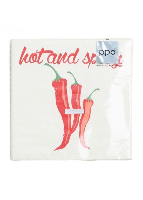 Eb & Vloed Spicy Chillies 33x33