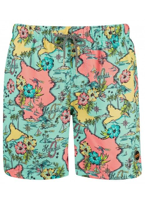 SHIWI Boys swim shorts hawai island