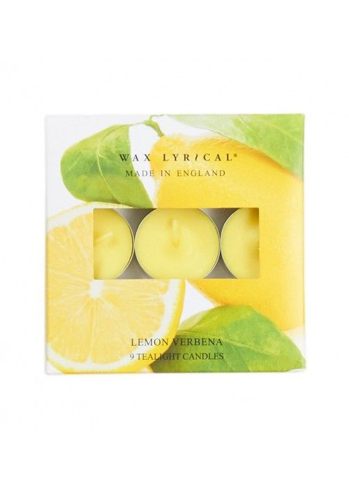 Eb & Vloed Tealights Lemon Verbena