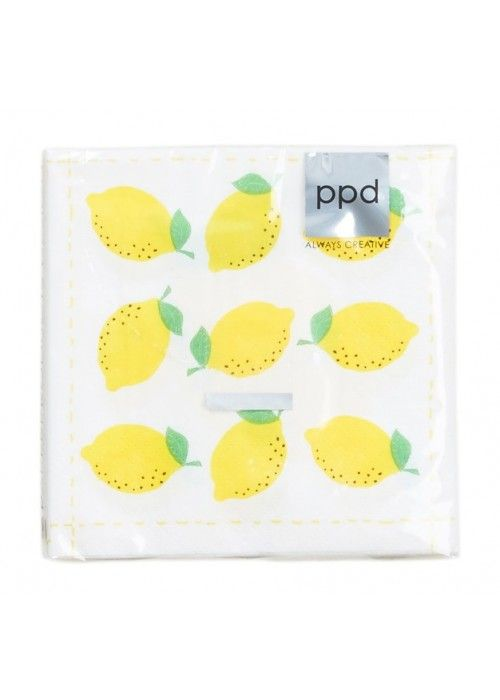 Eb & Vloed Fashion Lemon 25x25