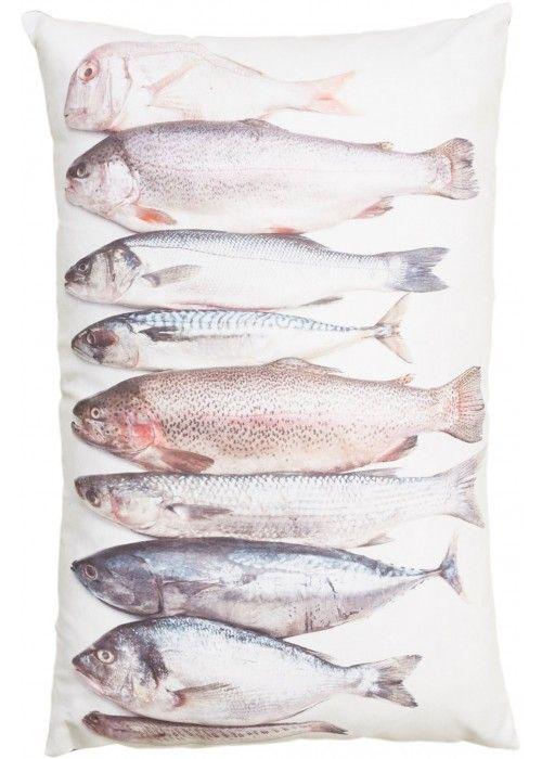 Eb & Vloed Kussen Vissen 2