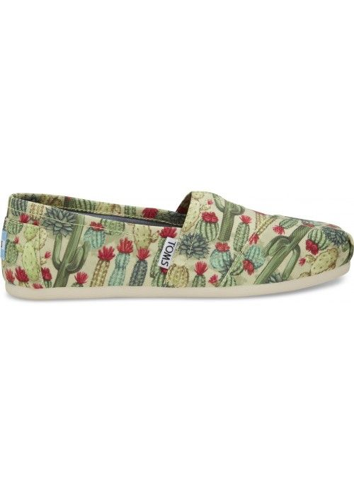 TOMS Shoes Fern Green Cactus WM ALPR ESP
