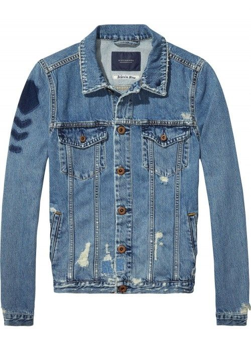 Maison Scotch Trucker jacket with vintage