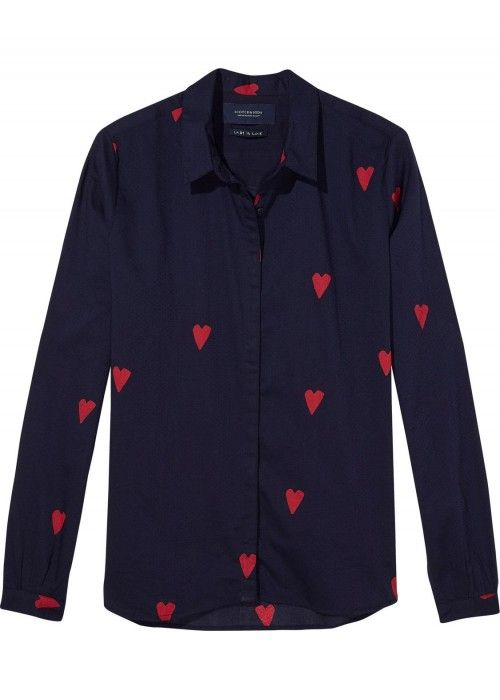 Maison Scotch Basic shirt in various all ove