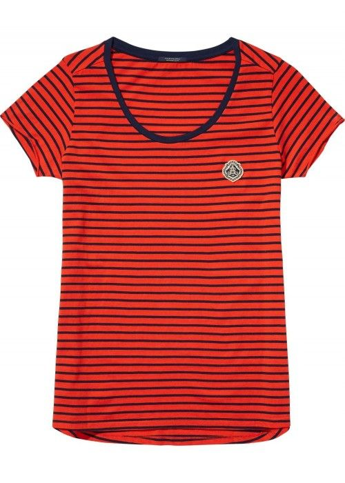 Maison Scotch S/S Tee Various Stripes