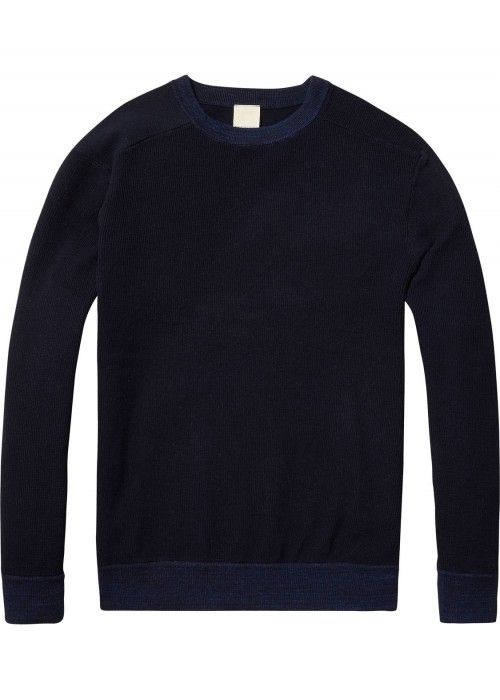 Scotch & Soda Home Alone Crew Neck Knit