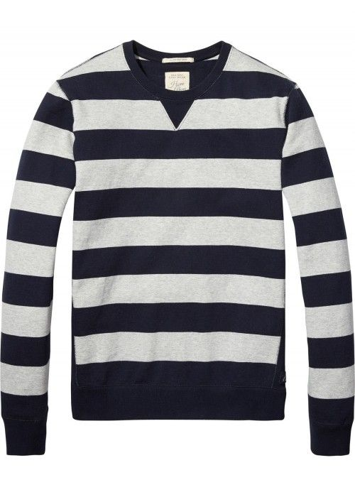 Scotch & Soda Home Alone Classic Crew Neck