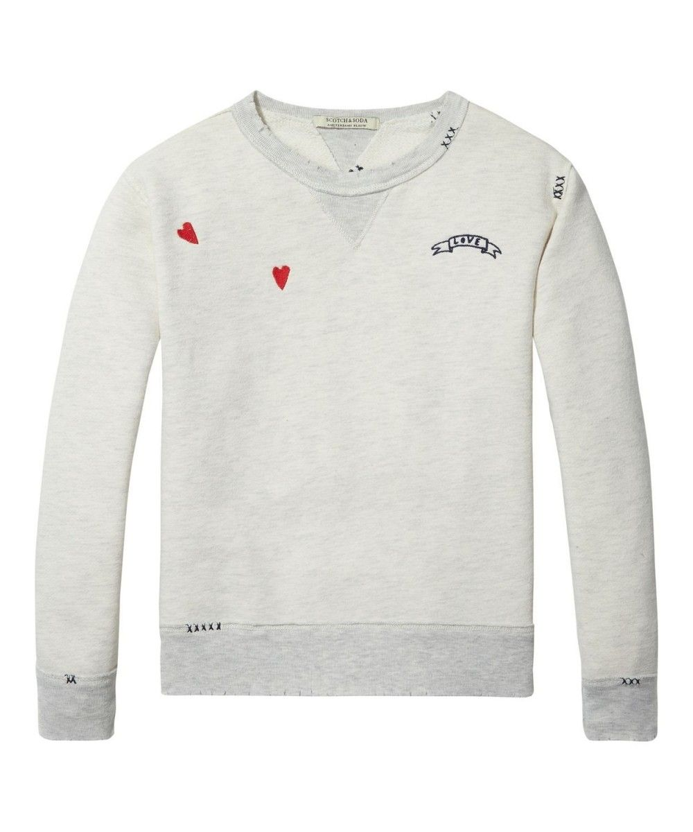 Scotch R'belle Crewneck Repair Sweat