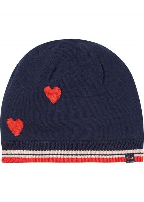 Scotch R'belle Heart Intarsia Cotton Beanie
