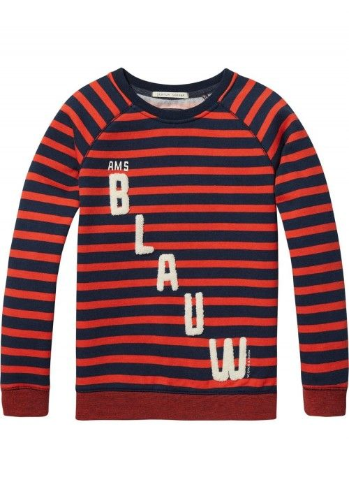 Scotch Shrunk AMS Blauw Sweat
