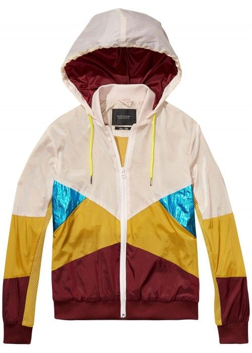Maison Scotch Sporty Lightweight Jacket