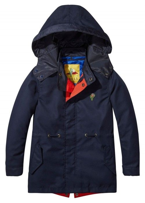 Scotch Shrunk Parka Jacket