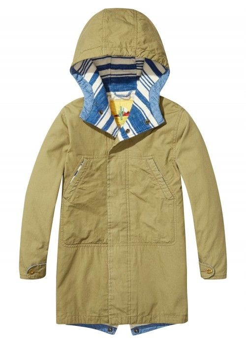 Scotch Shrunk Oversized Lightweight Parka