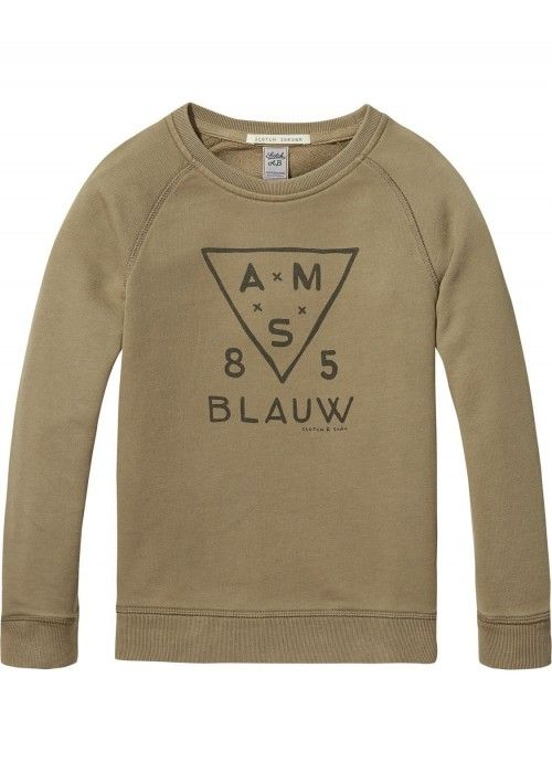 Scotch Shrunk Crewneck Garment Dye Sweat