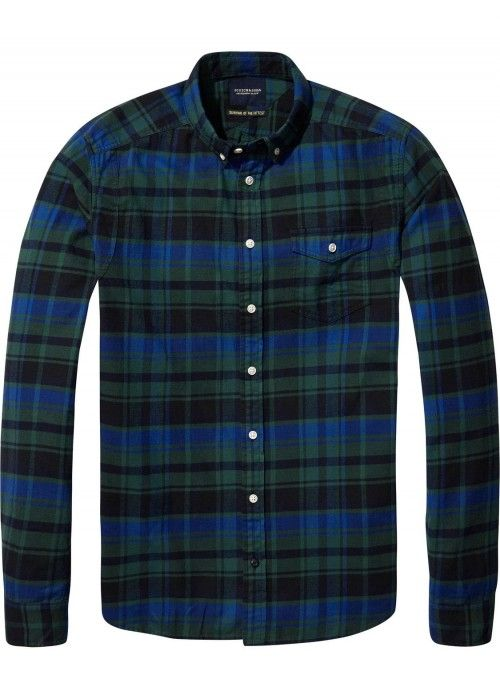 Scotch & Soda Lightweight Brushed Flannel