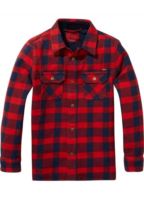 Scotch Shrunk Checked Overshirt