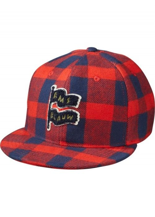 Scotch Shrunk Flannel Check Cap