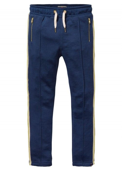 Scotch R'belle Clean Sweat Pants With Stripe